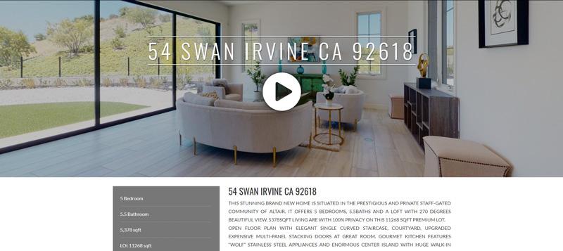 54 SWAN IRVINE CA 92618